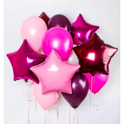 Розовое ассорти