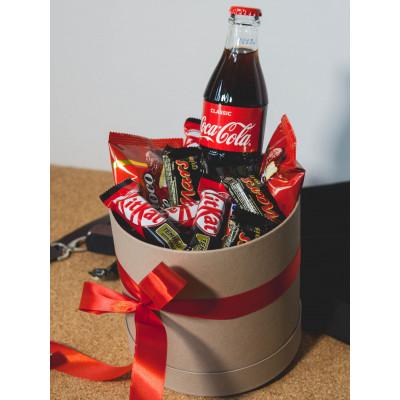 Шоколадки с напитком в Шляпкой коробке