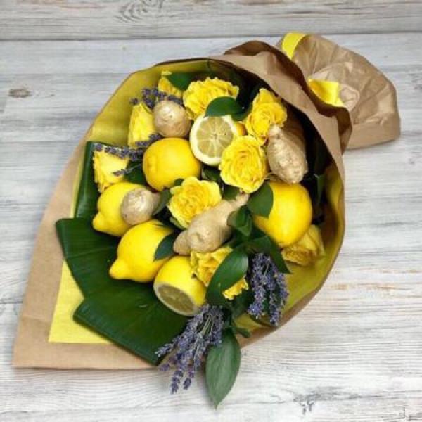 Букет Лимонный