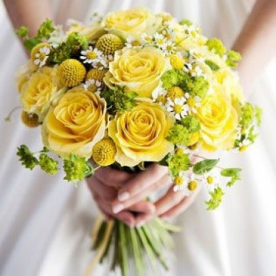 Букет невесты Солнечный