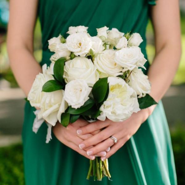 Букет невесты Кружевной