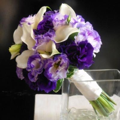 Букет невесты Сиреневый