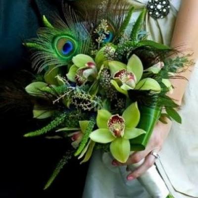 Букет невесты Африканский